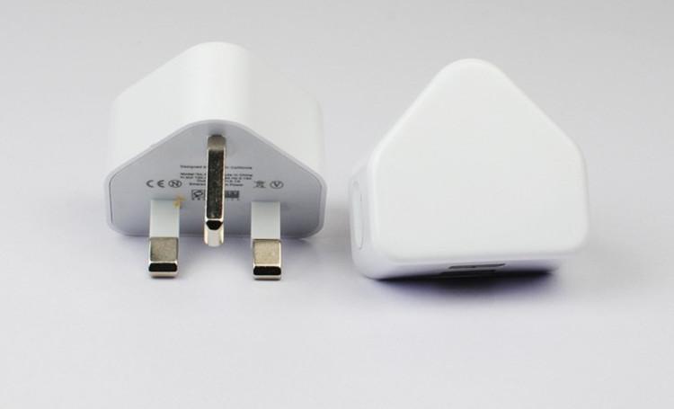 苹果港版三角充电器